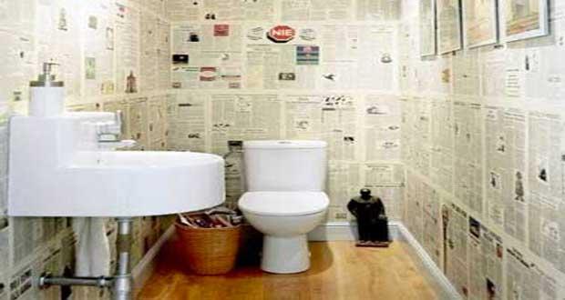 on soigne sa deco wc pour embellir le coin toilette souvent oublie en decoration peinture
