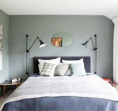 le luminaire aussi fait la deco d une chambre pour un eclairage confortable dans