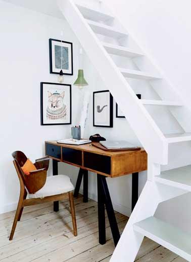 Amnager Un Petit Espace Sous Escalier Sympa