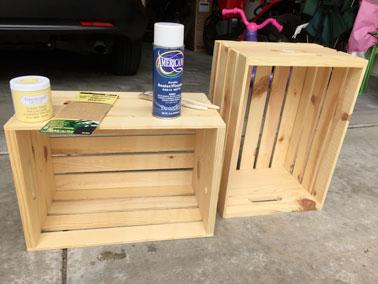 meubles a faire avec des caisses en bois