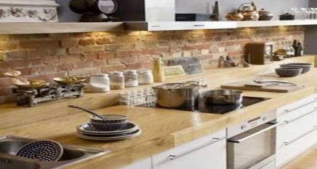brique rouge cuisine unixpaint. Black Bedroom Furniture Sets. Home Design Ideas