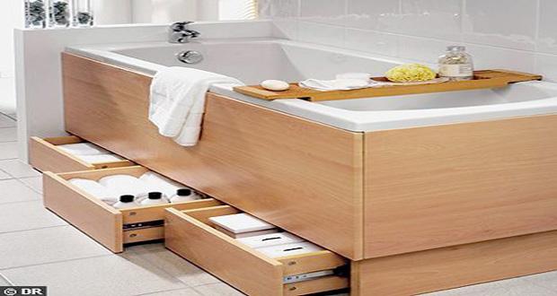 petite salle de bain deco optimisee