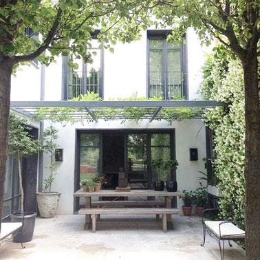 Amnager Une Terrasse Intime Avec Un Patio De Verdure