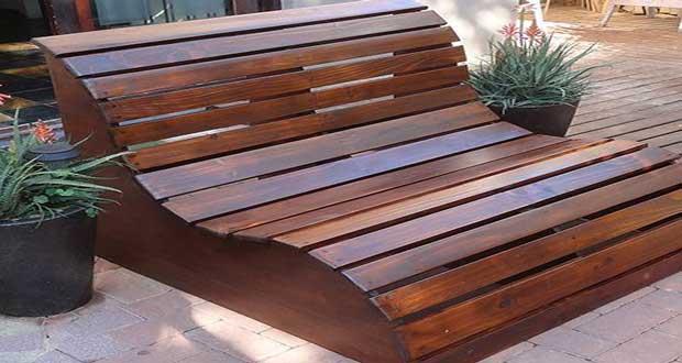 fabriquer un banc de jardin en bois a