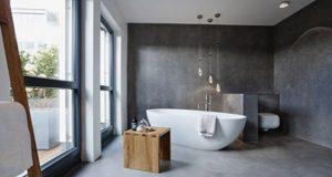 6 salles de bain en beton cire pour vous inspirer