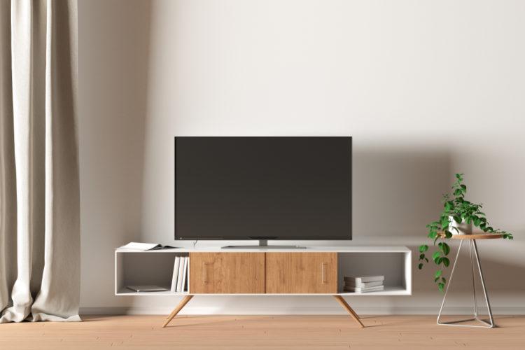 tv dans la decoration de votre salon