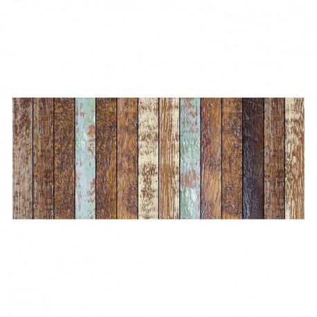 tapis vinyle parquet vieilli