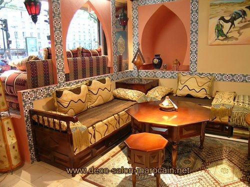 deco salon marocain