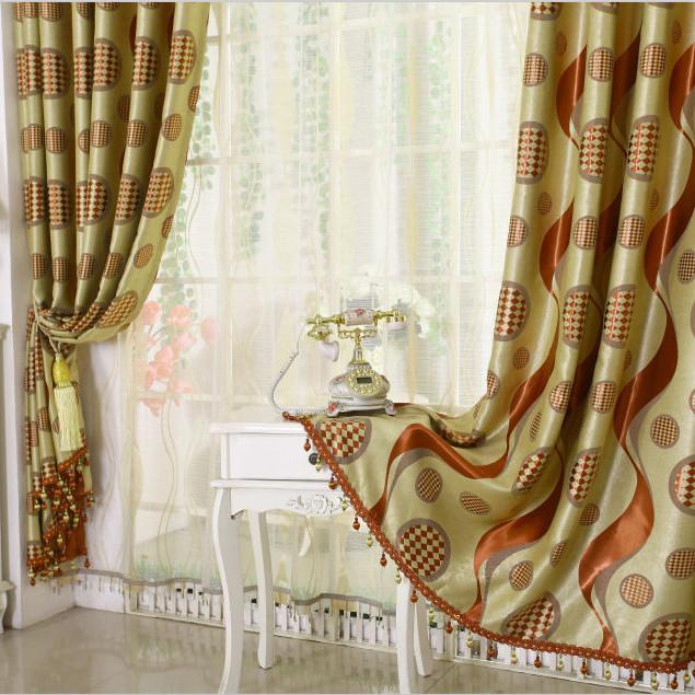 rideaux modernes deco salon marocain