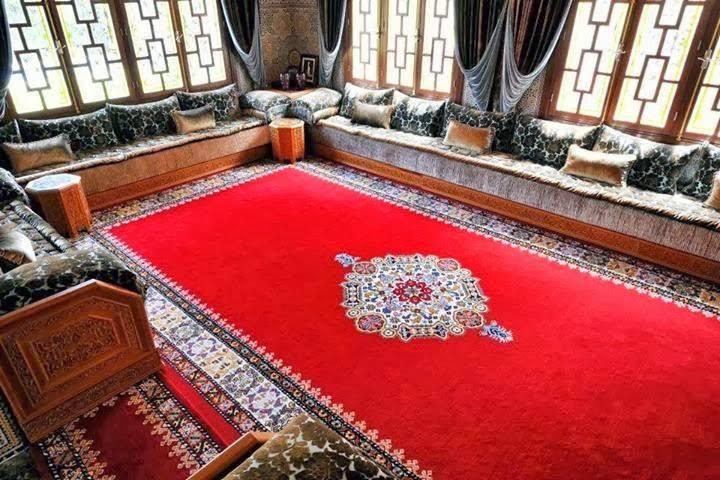 deco salon maroc