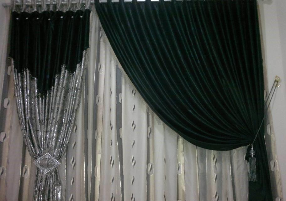 rideaux marocains pour salon moderne