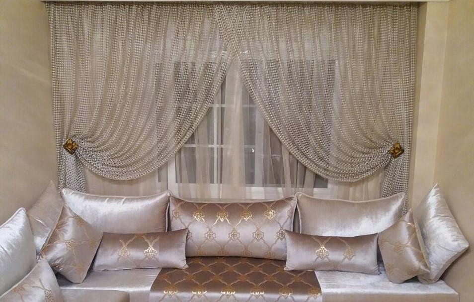 vente rideaux salon marocain 2020 pas