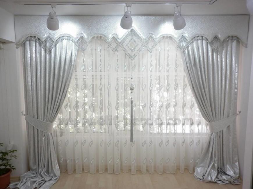 rideaux salon marocain deco salon
