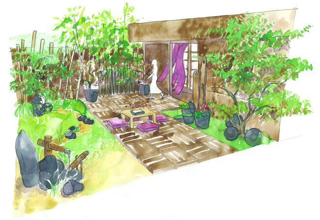 conseils de paysagiste un jardin zen