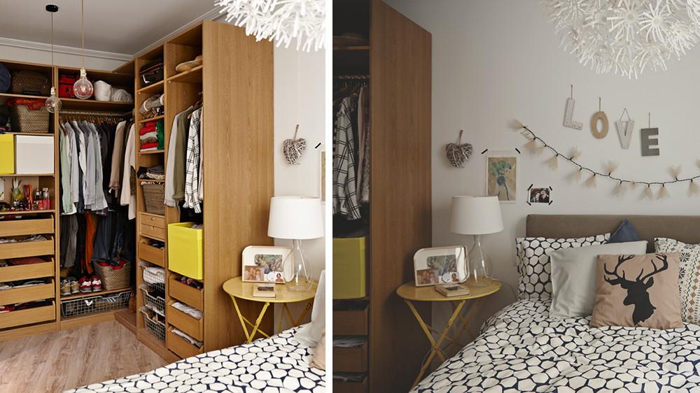 armoire ou dressing dans une petite