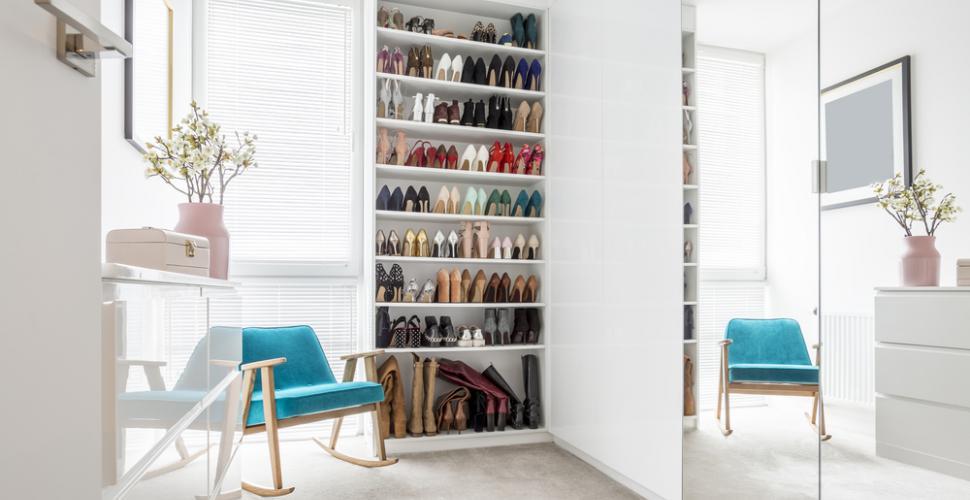 bien ranger une armoire a chaussures