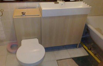 J Ai Cache Le Reservoir Des Toilettes Dans Un Meuble De Rangement Ikea M6 Deco Fr