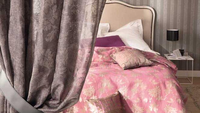 inspiration baroque pour les rideaux de