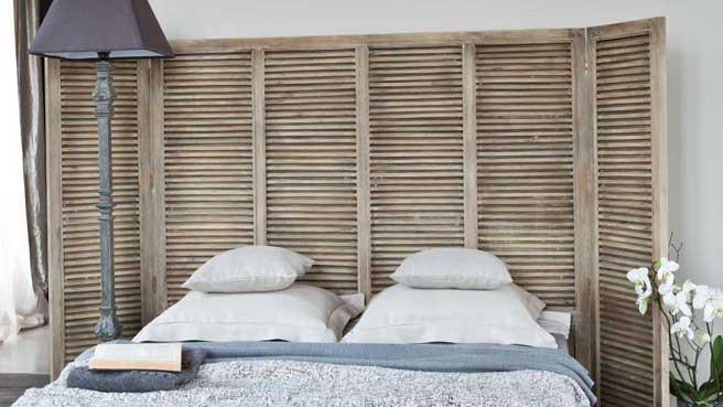 idees recup pour creer une tete de lit