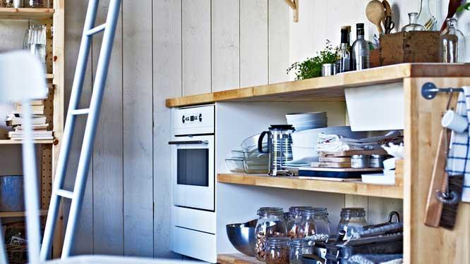 je veux une cuisine peu conventionnelle