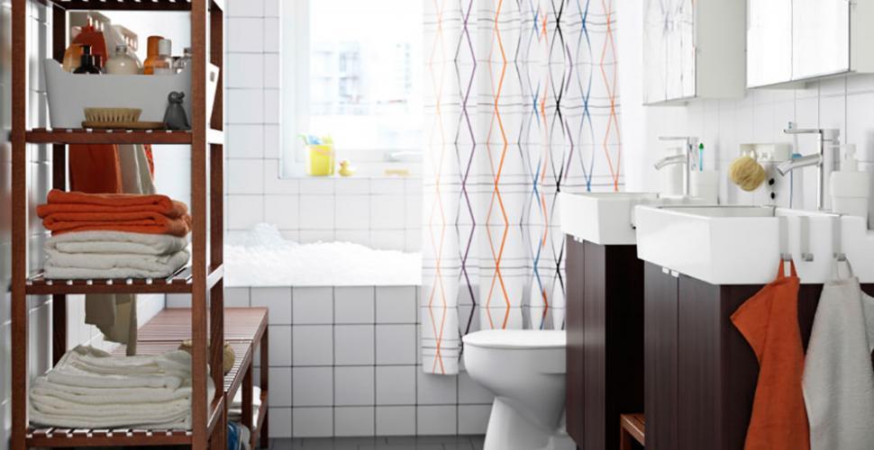 les serviettes de la salle de bains