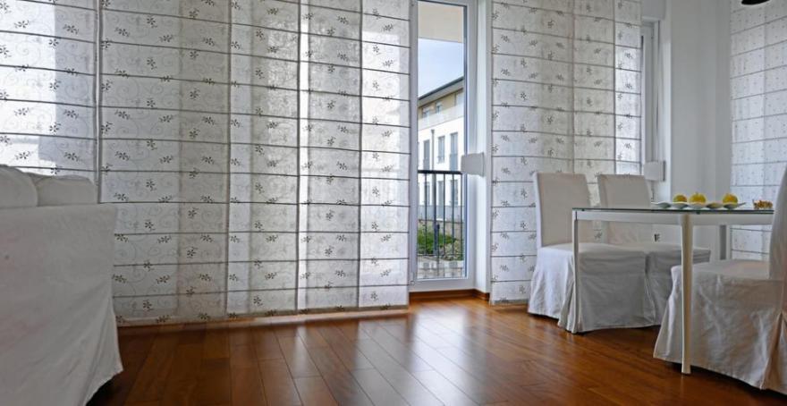 quels rideaux pour ma baie vitree