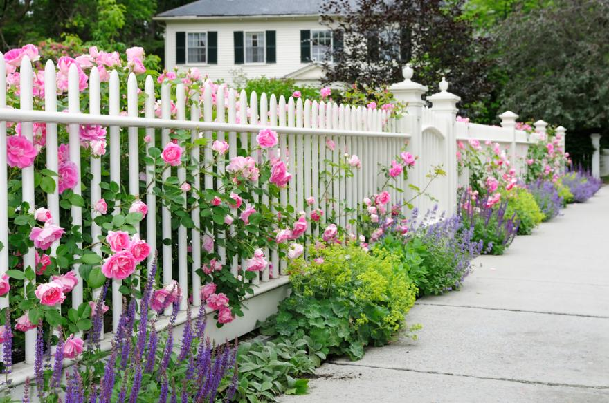 barriere de jardin 10 styles pour