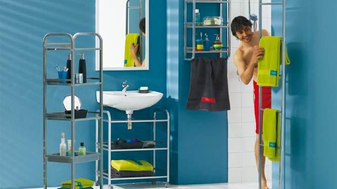 la salle de bains en mode ado