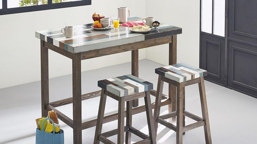 10 tables hautes pour votre cuisine