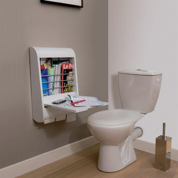 ranger vos magazines dans les toilettes