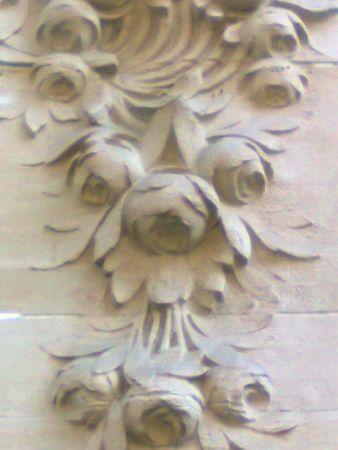 decor pivoines immeuble 1913 Paris 7