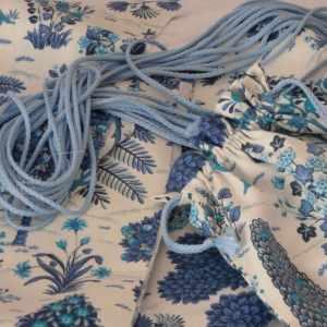 Deco mariage sacs tissu