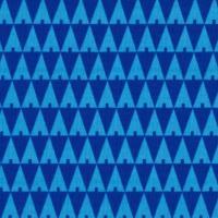 tissu_triangles_trees_bleu_C_est_dimanche