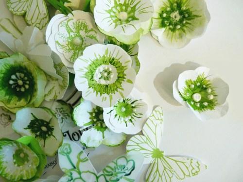 Anemones sauvages papier Kalifragili