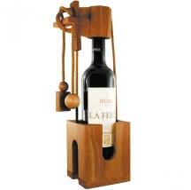 Puzzle casse-tete bouteille de vin