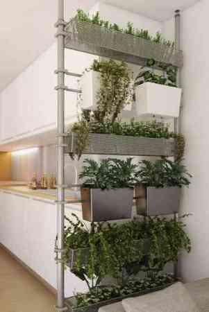 Cuisine-ouverte-cloison-modulable-jardinieres-Solutio-Castorama