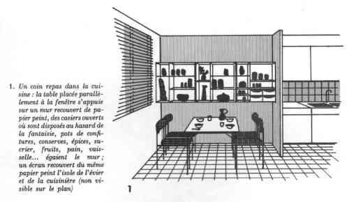 Maitresse-de-jeune-maison-1969-coin-repas-dans-cuisine