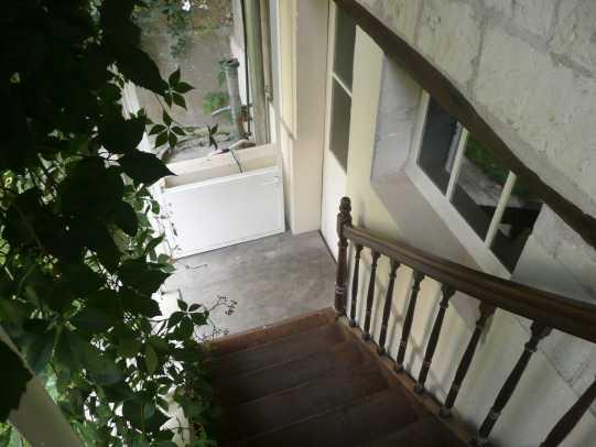 Escalier extérieur Saumur 2008