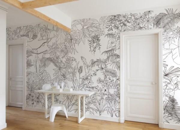 papier-peint-jungle-tropical-noir-et-blanc-caddous-et-alvarez-ohmywall-big-panoramique