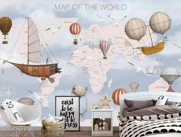 planisphere_panoramique_machines_volantes_MakeUpWallDecor