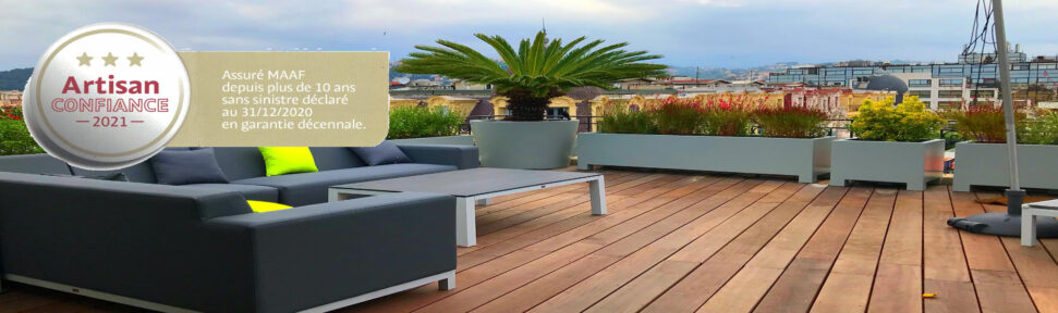 terrasse en bois amenagement exterieur