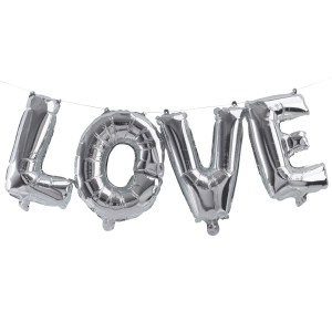 PM  Silver Love Balloon Cut Out scaled
