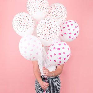 balloons pink red scaled