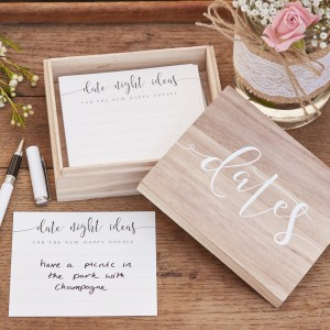 CW  Wooden Date Box With Date Cards scaled
