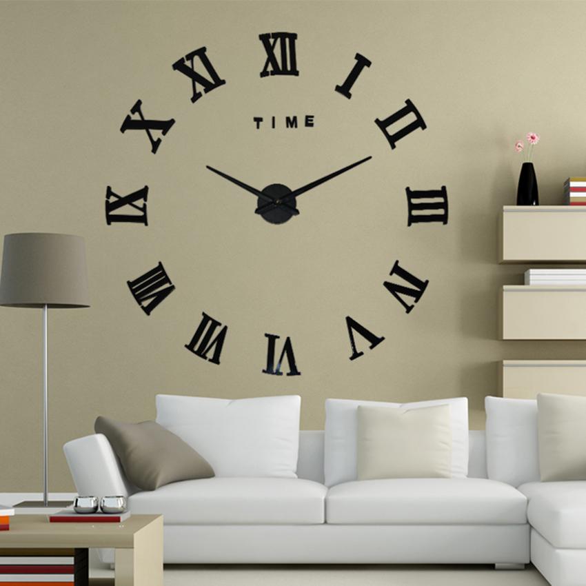 Horloge Murale Chiffres Romains DECOCLOCK