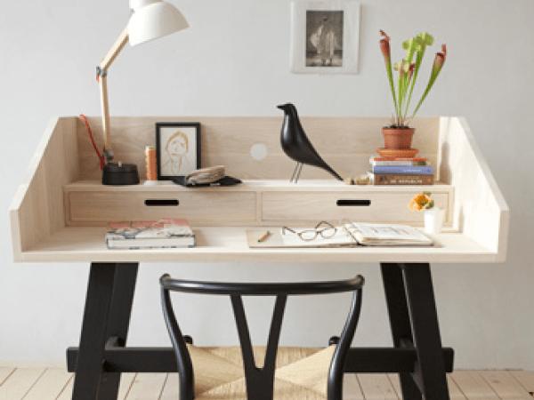 10 bureaux design et gain de place !