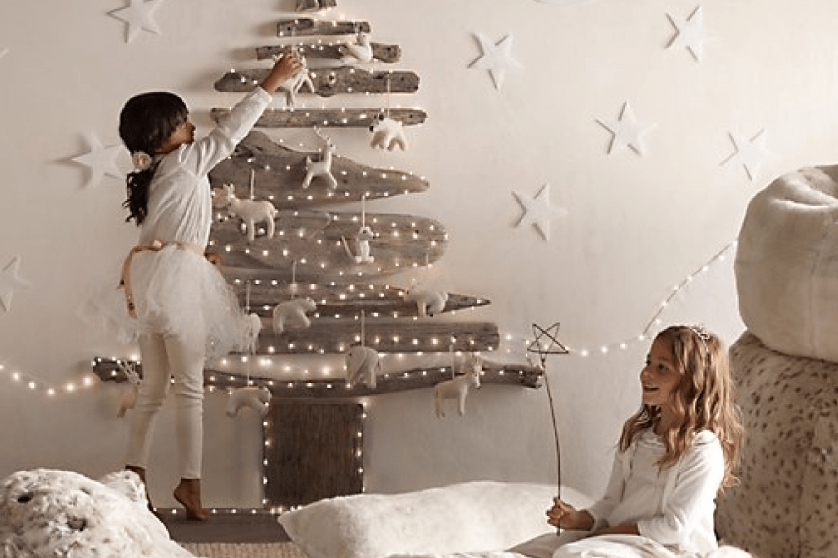 Diy 35 id es d co pour un sapin sans pine decocrush for Idee decoration fenetre pour noel