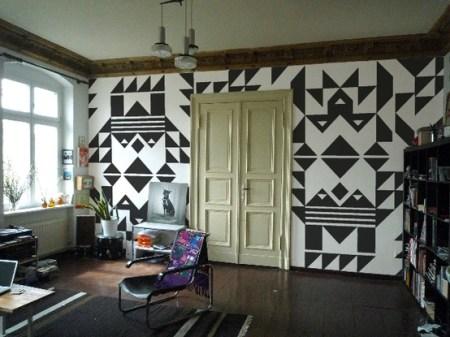 { Les Jeudis Graphiques } Peinture Géométrique !
