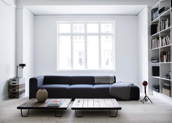 Chez...Yvonne Koné, simplicité en noir et blanc | www.decocrush.fr