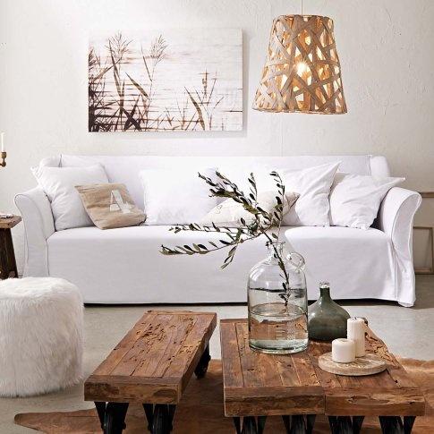 Astuces déco : housses de canapé pour style scandinave cozy...   www.decocrush.fr